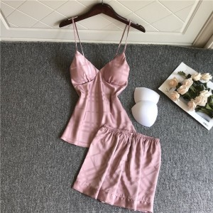 2020 New Sling Halter Shorts Two Piece Set
