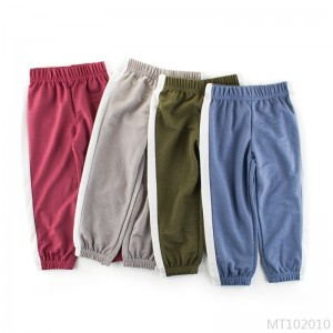 2020 new anti-mosquito pants children casual pants thin section boys pants