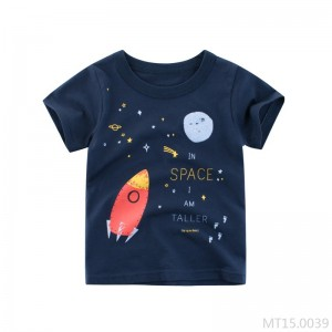 2020 new short-sleeved T-shirt cotton baby
