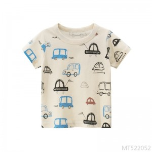 2020 new Korean children's short-sleeved T-shirt