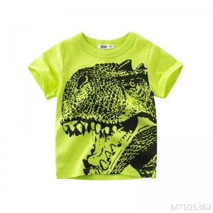 2020 new summer Korean children's clothing small and medium boys short-sleeved T-shirt