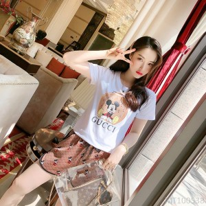 2020 new mouse T-shirt casual shorts suit