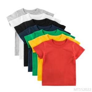 2020 new short-sleeved T-shirt pattern children clothes
