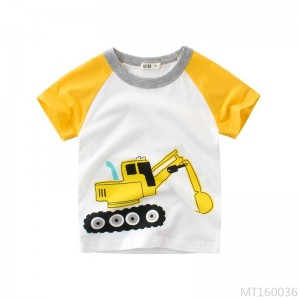 2020 new summer children's clothing ins children's short-sleeved T-shirt cotton