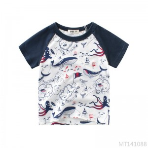 2020 new children's summer boys short-sleeved T-shirt kidswear