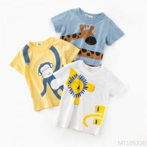 2020 new boy short-sleeved T-shirt summer children's clothing