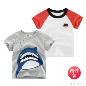 2020 new tide brand children's short-sleeved T-shirt baby