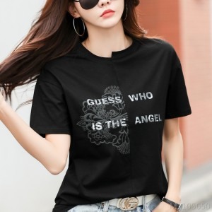 2020 new Korean version of cotton short-sleeved casual shirt bottoming shirt