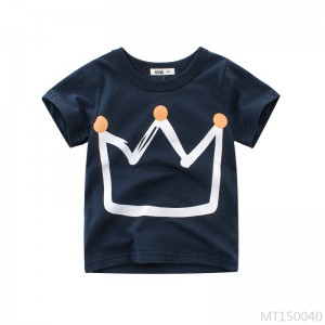 2020 new compassionate Korean children's clothing kidclothing crew neck