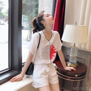 2020 new fresh and pure color casual shorts suit fashion suit