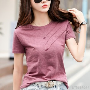 2020 new casual loose short sleeve t-shirt bottoming shirt