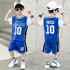 2020 new middle-aged and older boys short-sleeved sports Korean summer dress