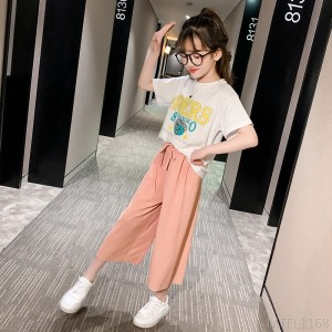 2020 new Chinese and Korean children's loose two-piece suit