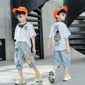 2020 new style big boy boy handsome trendy Korean version tide