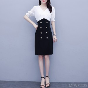 2020 new dress child professional fake two-piece suit