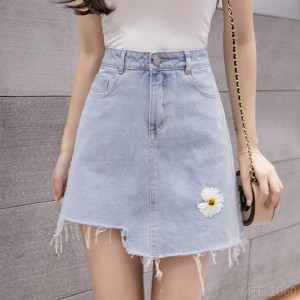 2020 new small daisy high waist skirt skirt