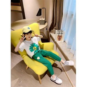 2020 new fashionable children's two-piece children's clothing