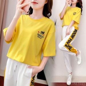 2020 new summer and Korean version of loose trendy fashion sportswear when casual