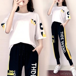 2020 new casual sportswear suit women loose