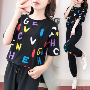 2020 new Korean version of loose and thin temperament trendy fashion and leisure