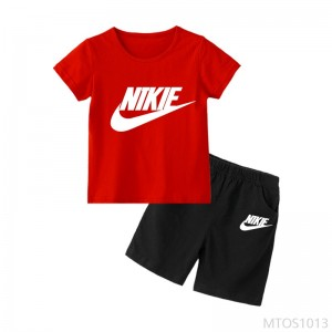 2020 new short-sleeved children's suit girls