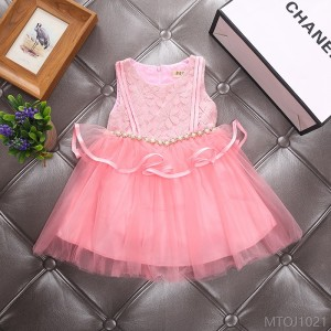 2020 new fashion mesh princess dress