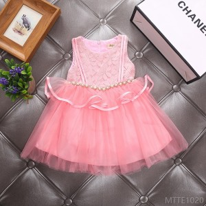 2020 new children's mesh fashion children's skirt
