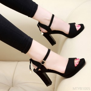2020 new article number (6 and 8 cm) standard code 33-40 high heel sandals