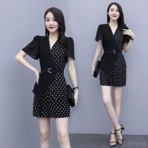 2020 new commuter two-piece suit loose personality wild