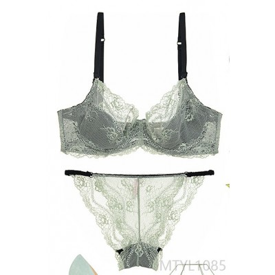 2020 new lace bra ultra-thin transparent temptation thin bra cover
