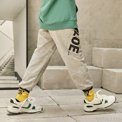 2020 new children's western style loose casual sports pants children's sweat pants