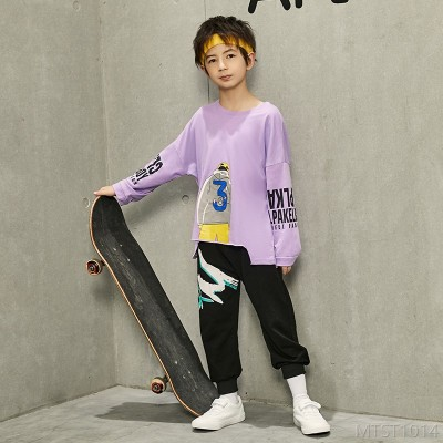 2020 new Cixi Minuoding boys sweater suit