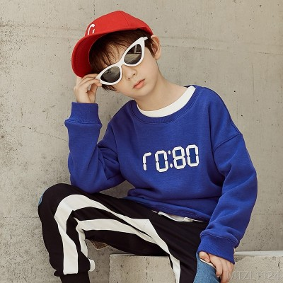 2020 new autumn sweater pullover blouse boy clothes t-shirt