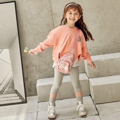 2020 new two-piece sweater girl autumn suit
