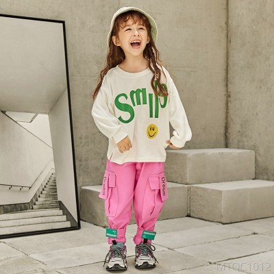 2020 new girls autumn suit casual cotton
