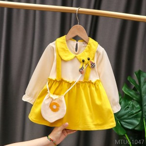 2020 new baby princess dress children infant sling dress