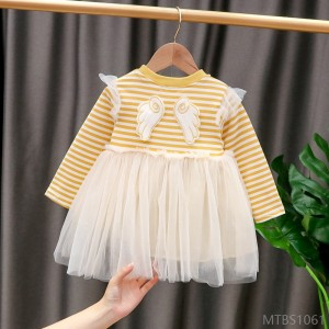 2020 new baby baby dress with little angel wings
