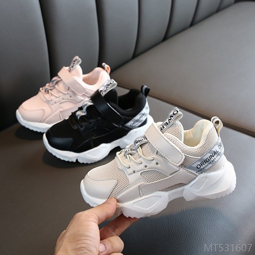 2020 new children's sports shoes ins fashion breathable big boys running shoes girls shoes casual dad