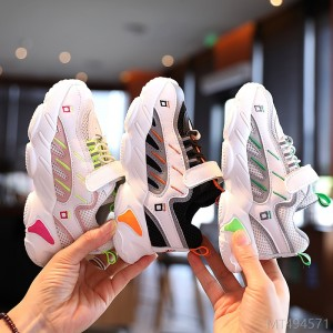 2020 new children's baby casual sports shoes autumn fashion breathable double mesh shoes for boys and girls