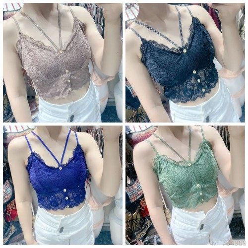 2020 new and new network explosion models bright diamond lace breast wrap chest strap sling girl underwear tube top all-match back
