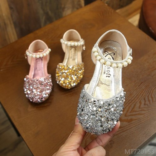 2020 new spring fashion Korean fashion girls shoes princess shoes summer high heels spring and autumn spring shoes