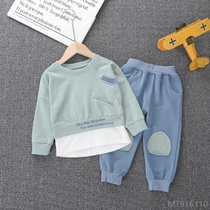 2020 new boys autumn suits, stylish temperament 1-3 years old 4