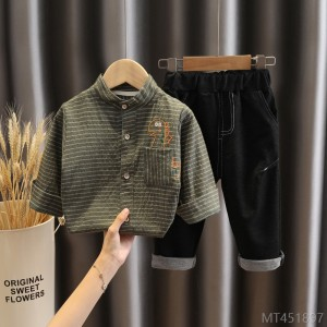 2020 new boy's shirt suit autumn fashion trend