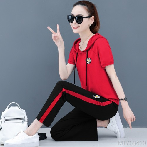 2020 new fashion trendy brand fashion cover belly slim hooded sports