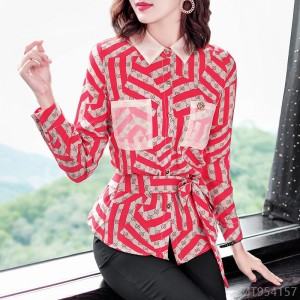 2020 new all-match new product autumn fashion striped shirt