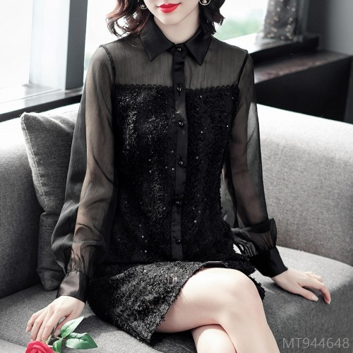 2020 new all-match new product autumn dress loose