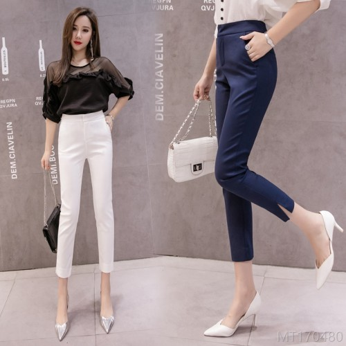 2020 new all-match casual pants women's trousers