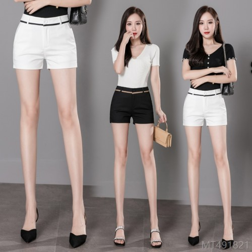 2020 new tight elastic bag buttocks slimming summer fashion Korean ultra short