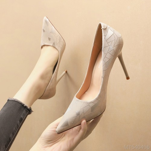 2020 new Korean fashion pointed pumps