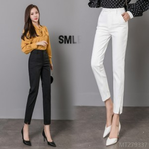 2020 new all-match autumn fashion suit pants women's nine-point pants career